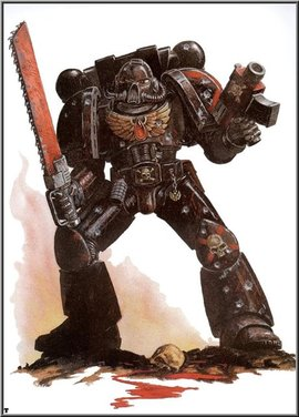 ARMY OF DEATH: A Blood Angels Variant Army (неофициальный кодекс)