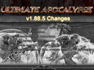 Ultimate Apocalypse Mod - The Hunt Begins v.1.88.5