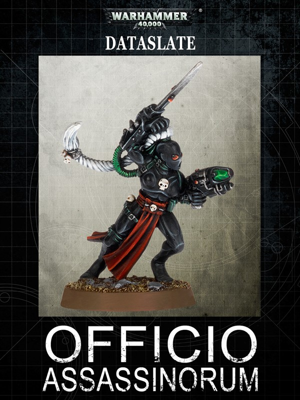 Dataslate: Officio Assassinorum Warhammer 40000 Eng