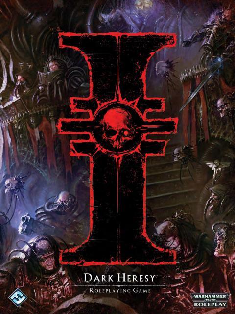 Книга правил Dark Heresy издание второе Warhammer 40000 Eng