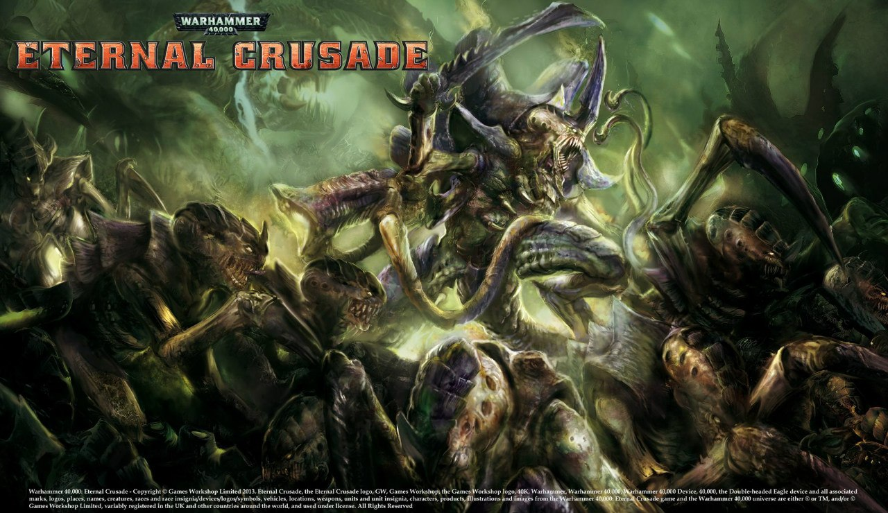 Тираниды Eternal Crusade