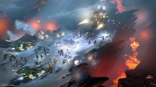 Космодесант в атаке Dawn of War 3