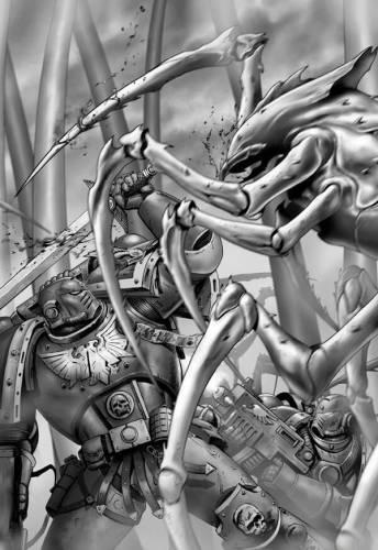 Мегарахнид-воин