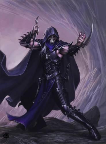 Асассин темных эльфов.