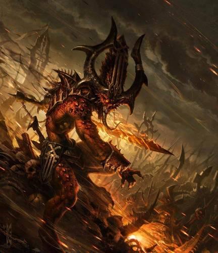 Демон Кхорна