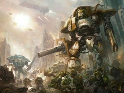 Имперский рыцарь Warhammer