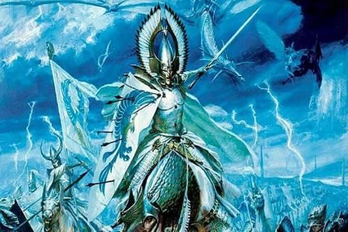 Высшие эльфы Warhammer