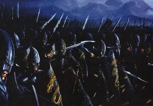 Темные эльфы Warhammer