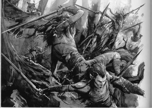 Боевые танцоры готовы начать пляску смерти