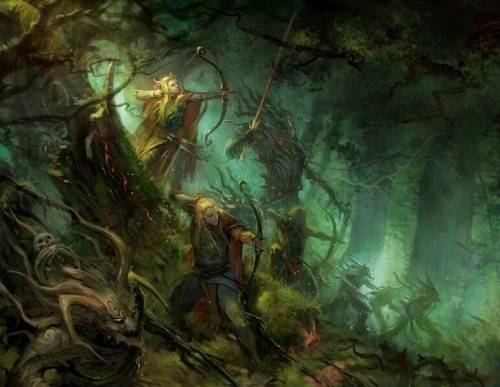 Лесные Эльфы Warhammer